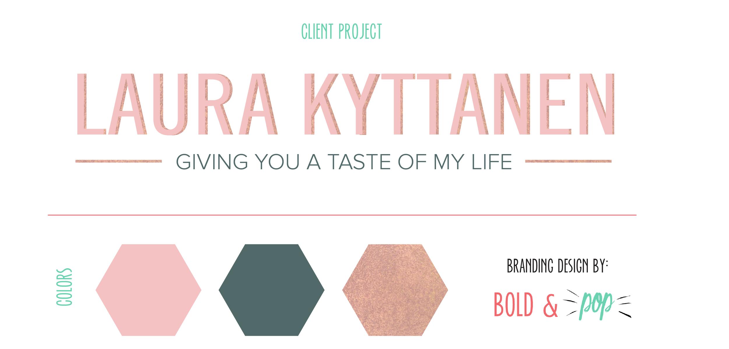 Bold & Pop : Laura Kyttanen Squarespace Blog Refresh