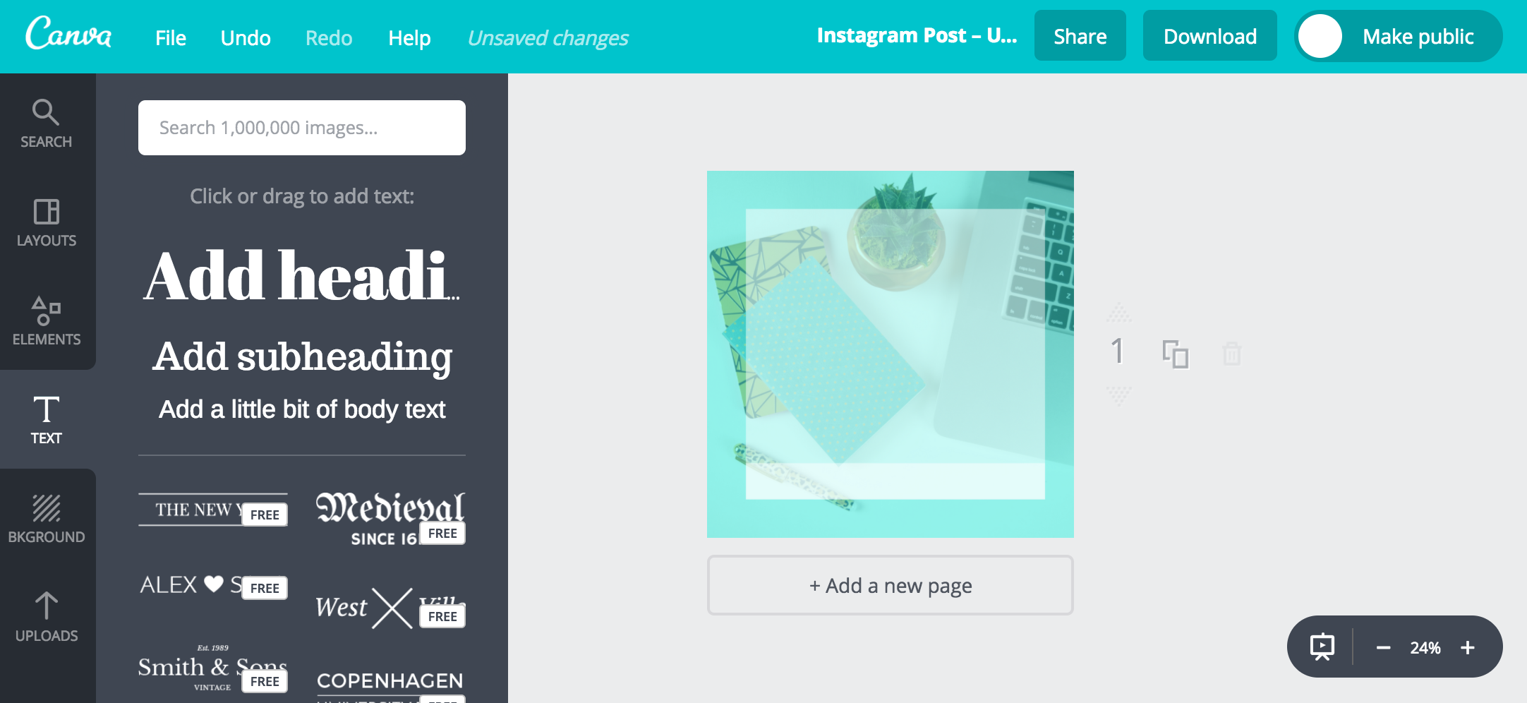 Bold & Pop : Bold Boss School Customizing Bold Boss School Resource Library Graphics in Canva