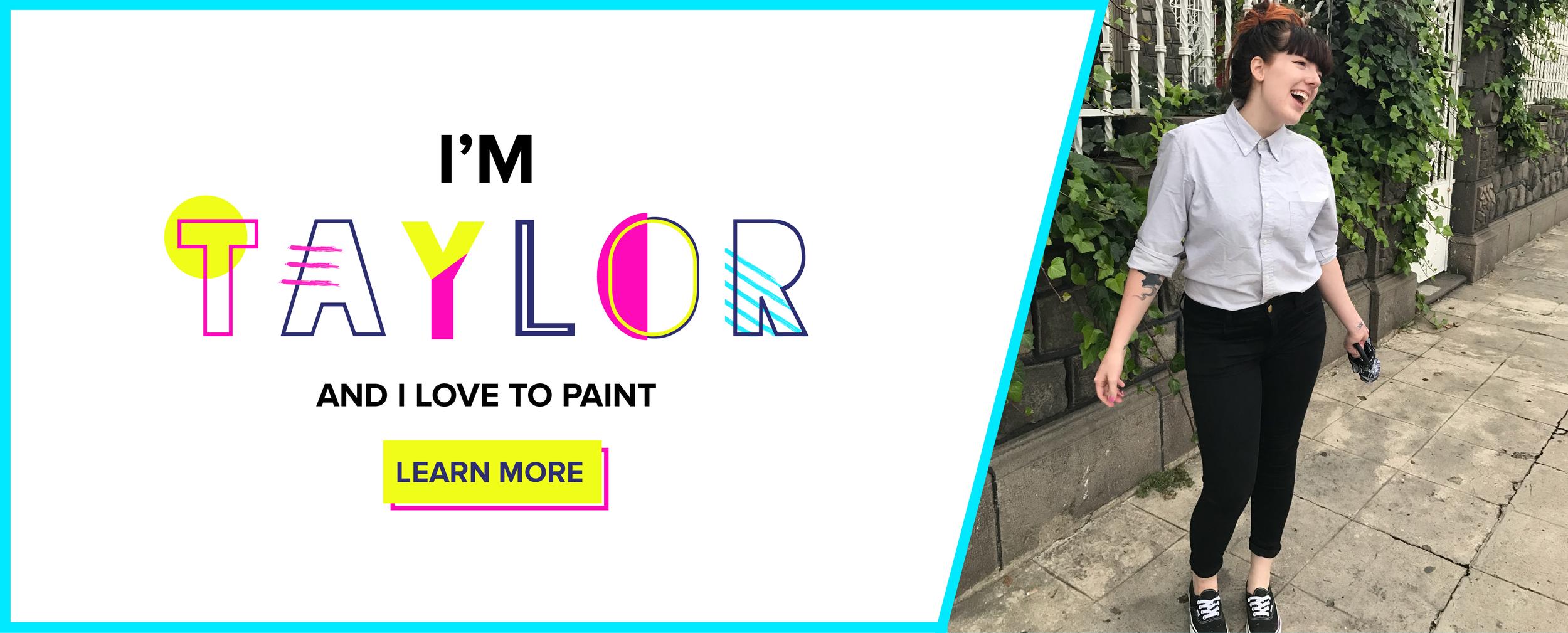 Bold & Pop : Taylor Lee Branding & Website Design