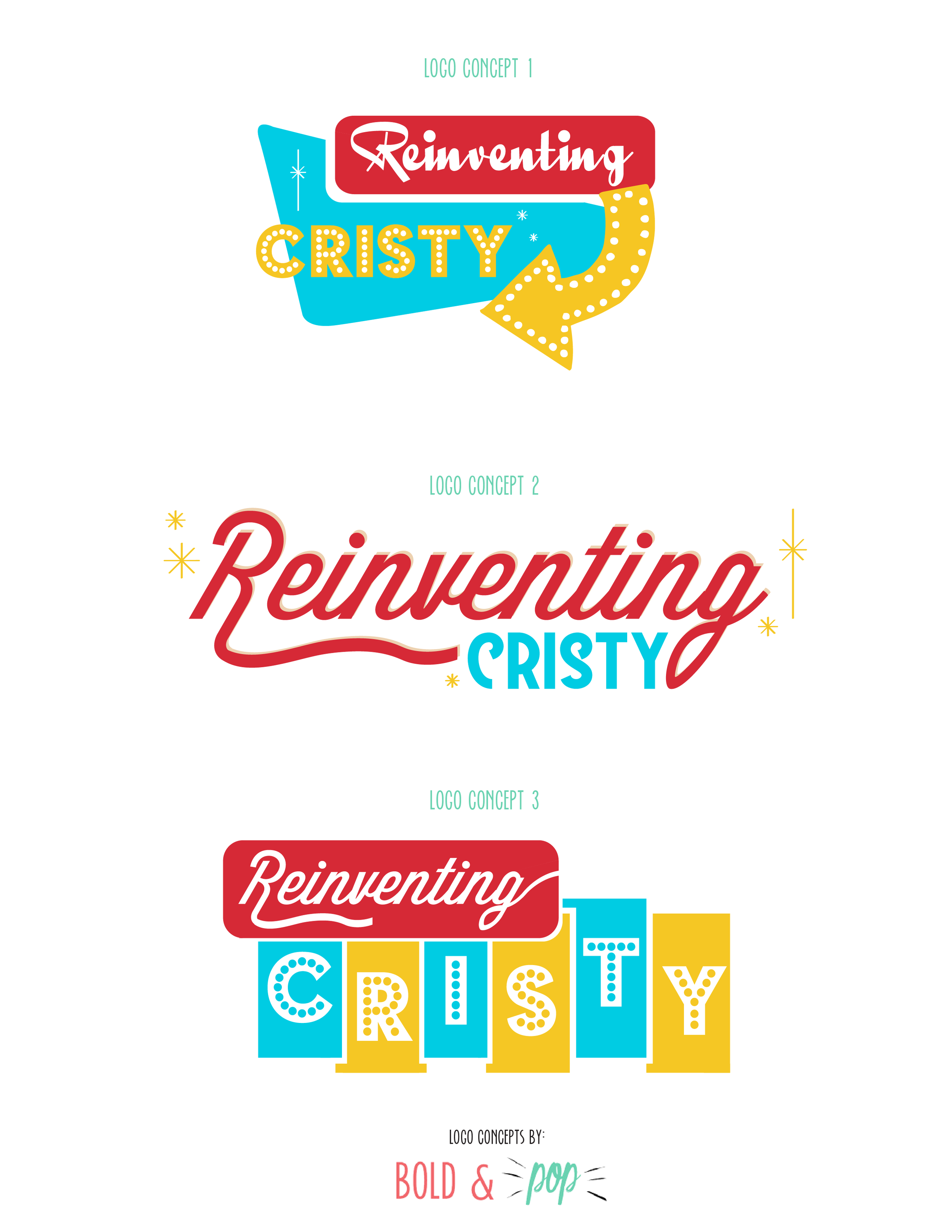 Reinventing Cristy Branding & Squarespace Blog Website Design