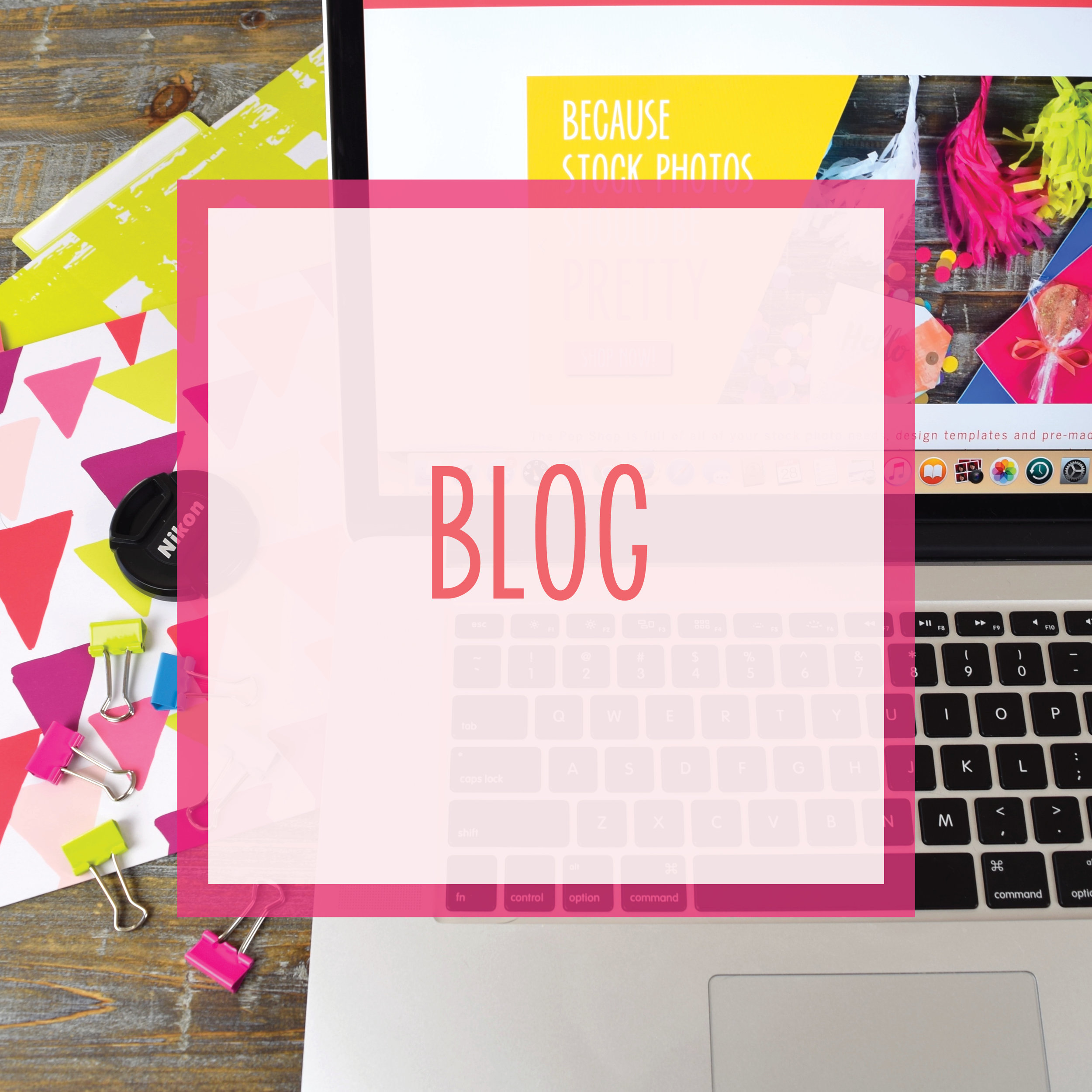 Bold & Pop: Blog covering business, branding, Squarespace website design, and social media marketing