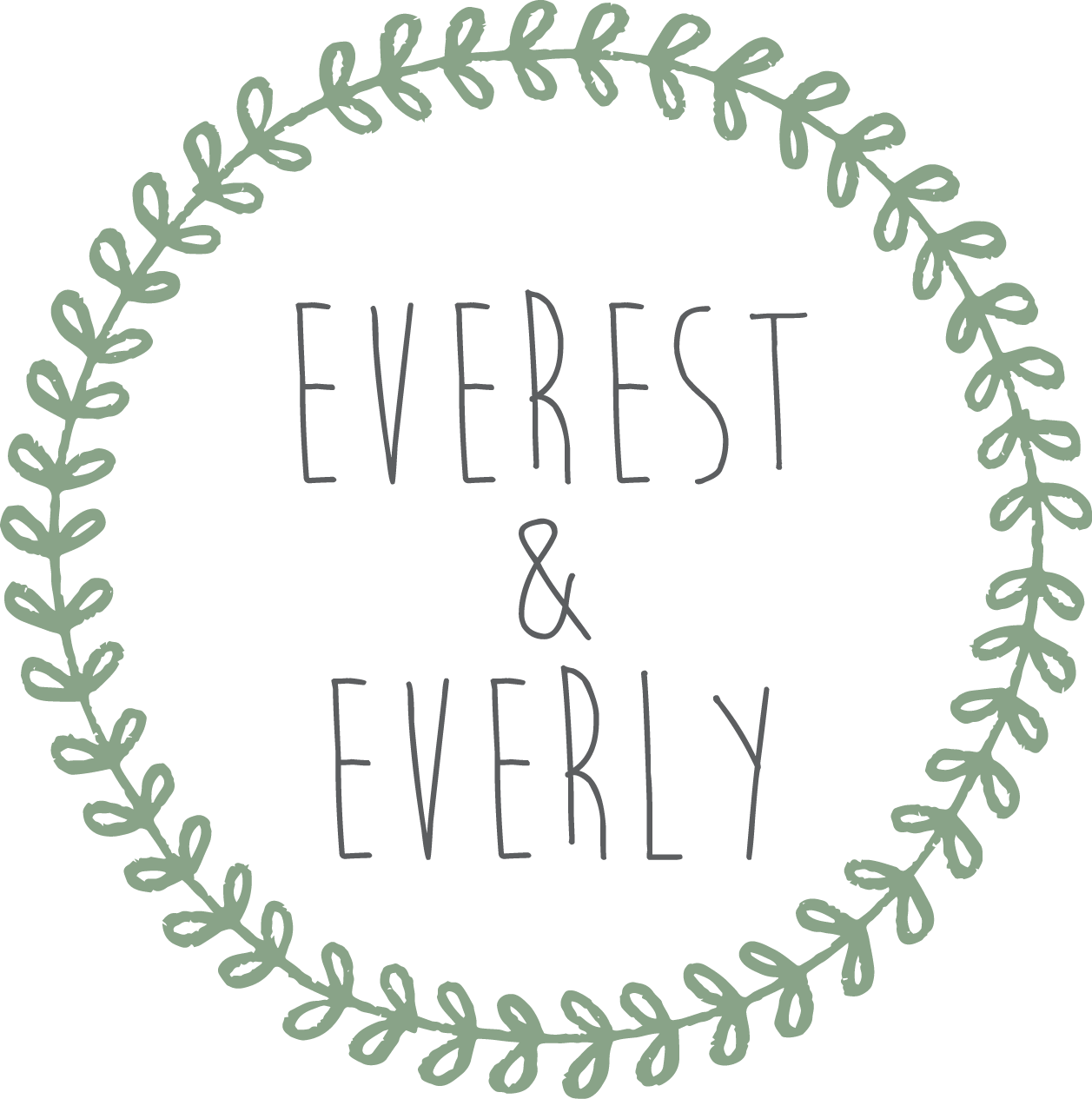 Bold & Pop : Everest & Everly Branding Design