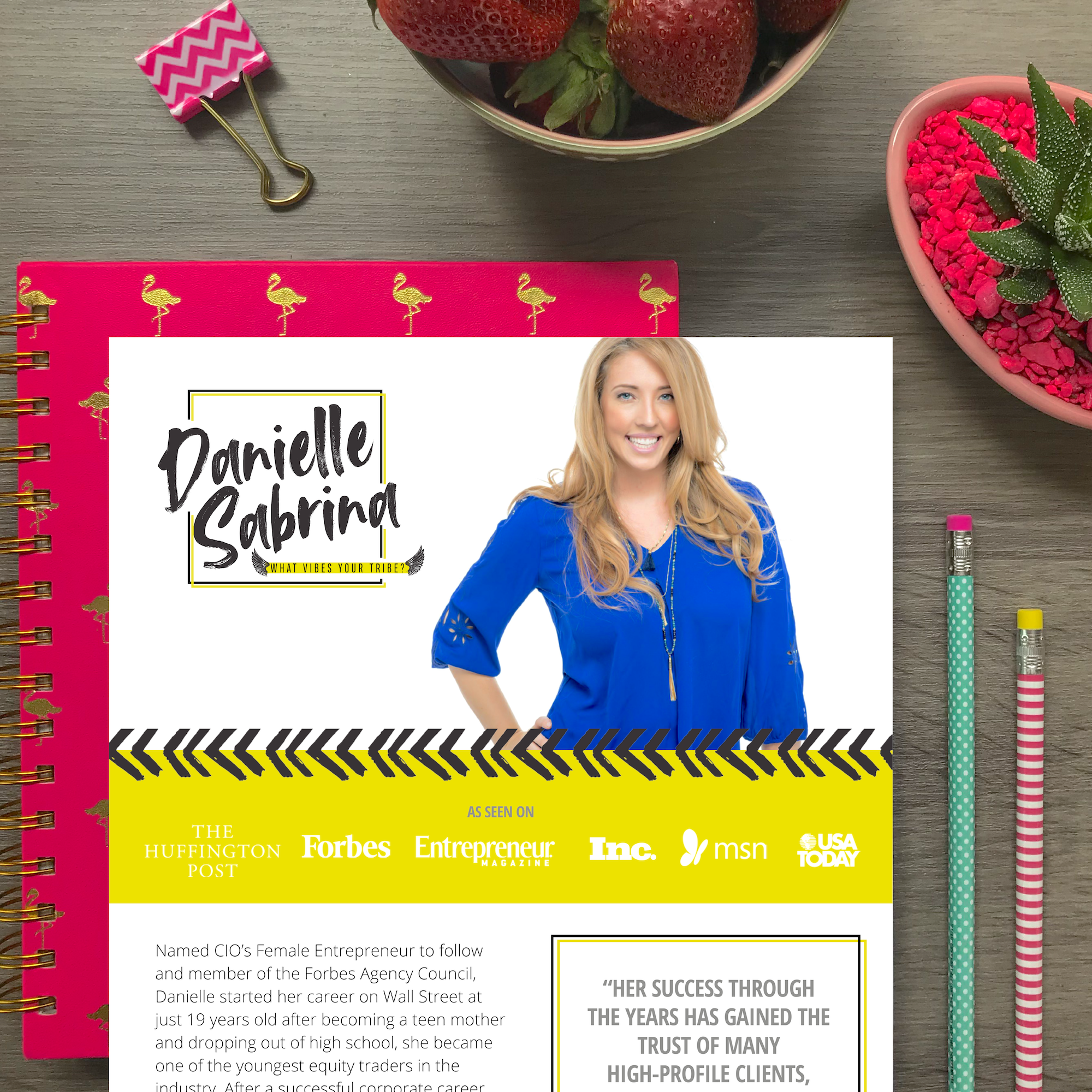 Bold & Pop : Collateral Graphic Design Projects | Press Kit Design | Electronic Media Kit Design | Media Kit Design | Blogger Media Kit Design