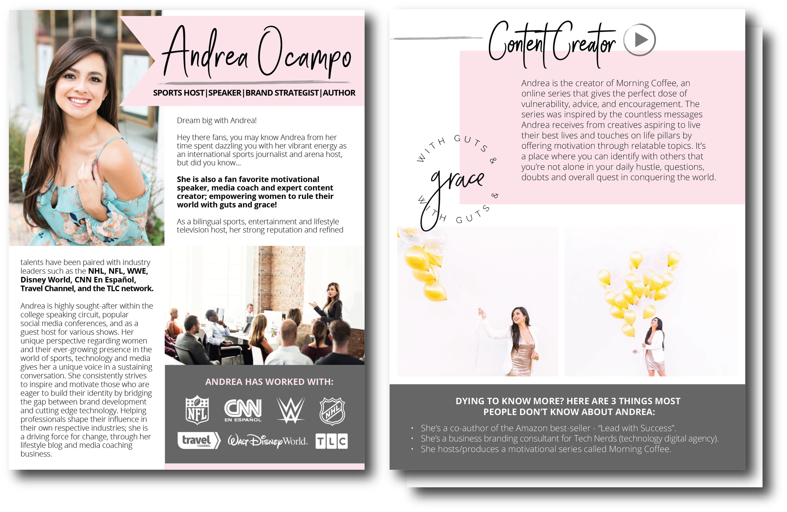 Bold & Pop : With Guts & Grace Collateral Project