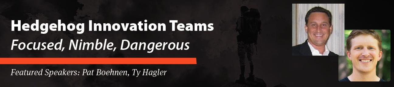 PDMA Hedgehog Innovation Teams: Focused, Nimble, Dangerous