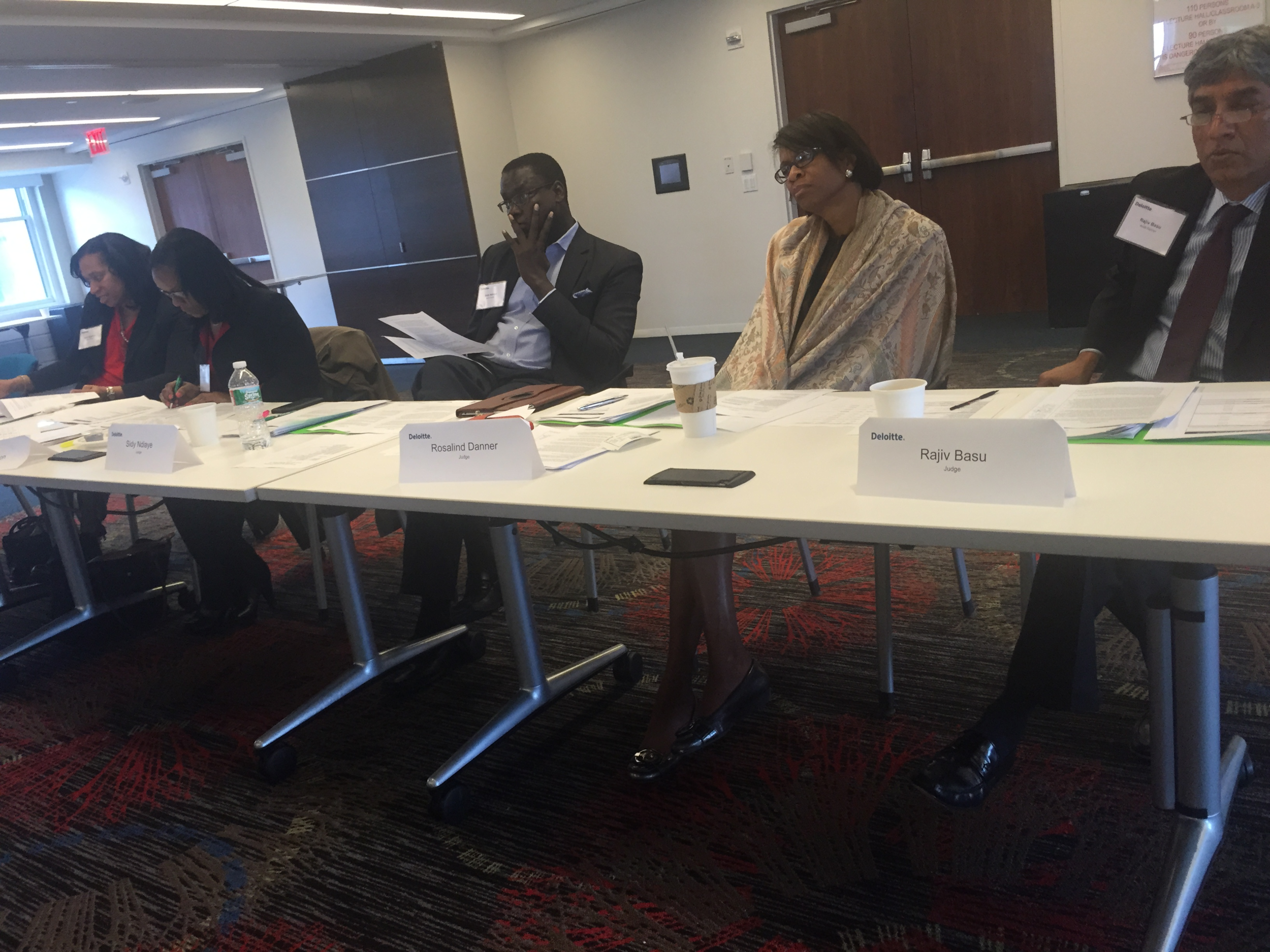 Fall 2015 NABA NY Case Study Competition, sponsored by Deloitte