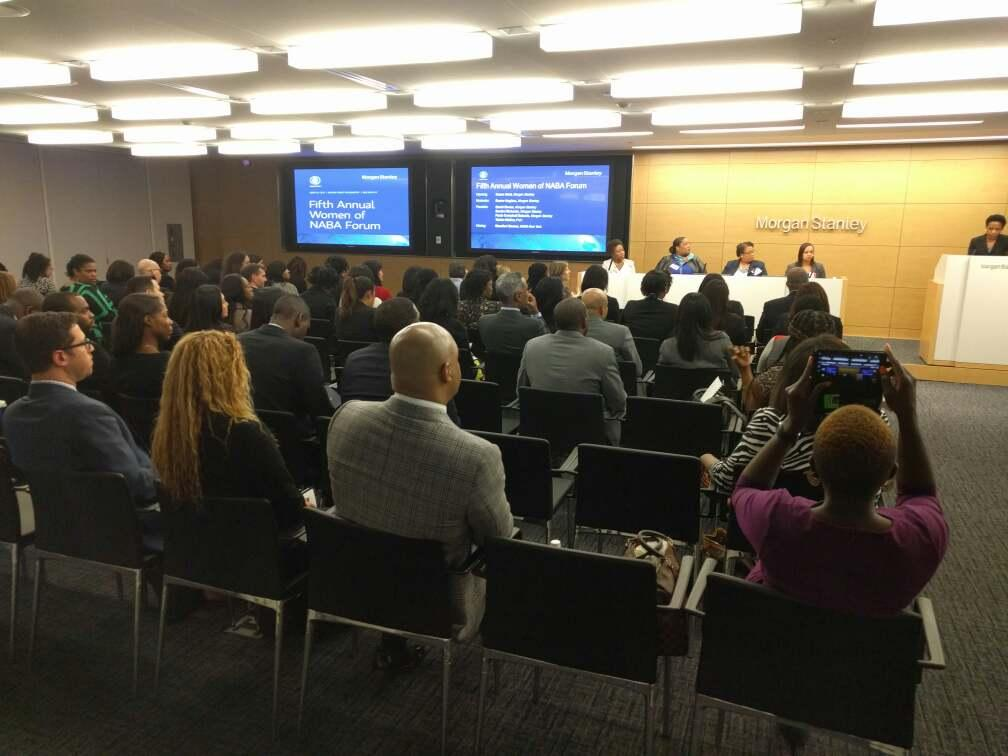 5th annual women of naba forum, hosted by morgan stanley