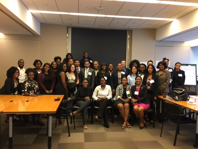 Fall 2017 Student Officers Workshop, hosted by EY