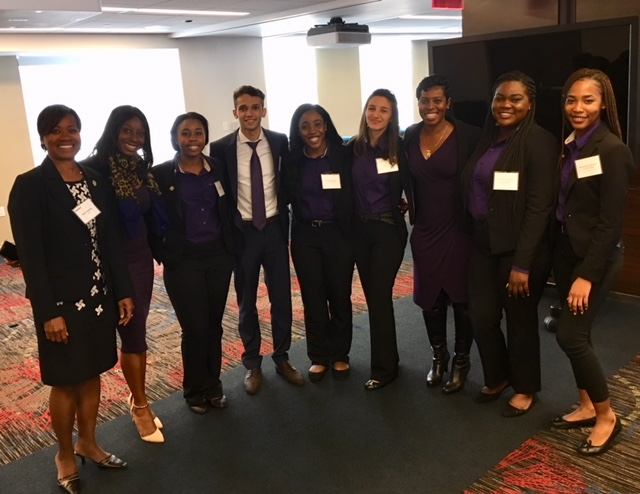 2017 NABA NY Case Study Competition, hosted by Deloitte