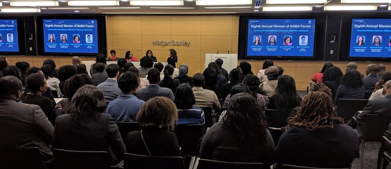 Eight Annual Women of Naba, hosted by morgan stanley