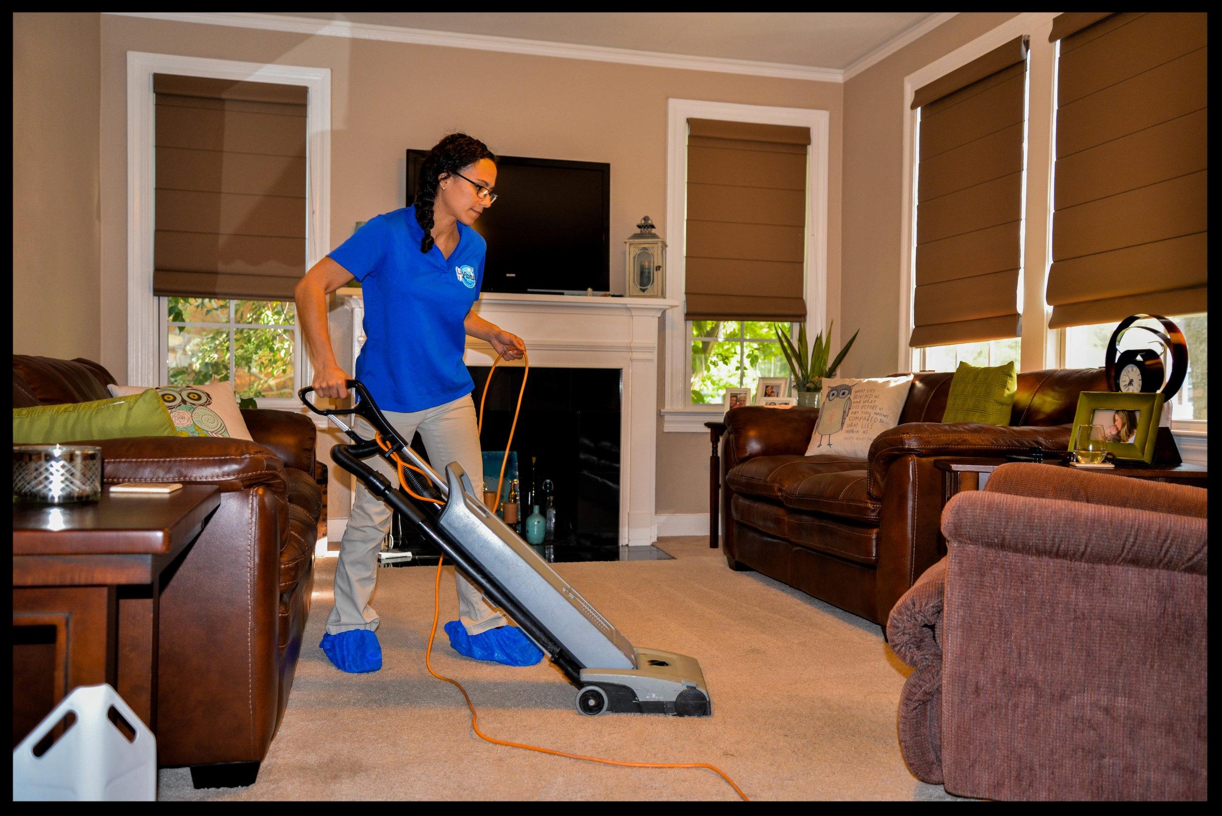2. Thorough vacuuming