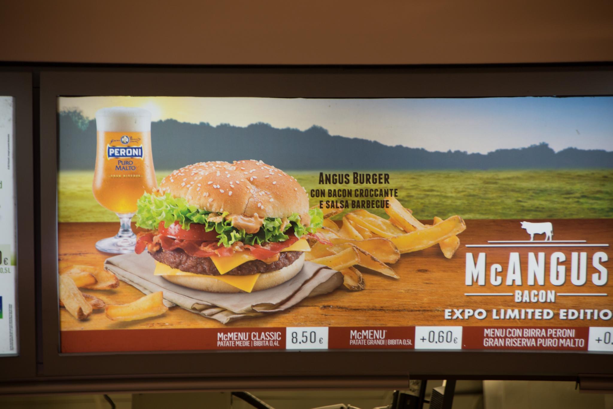 Beer at McDonald's?