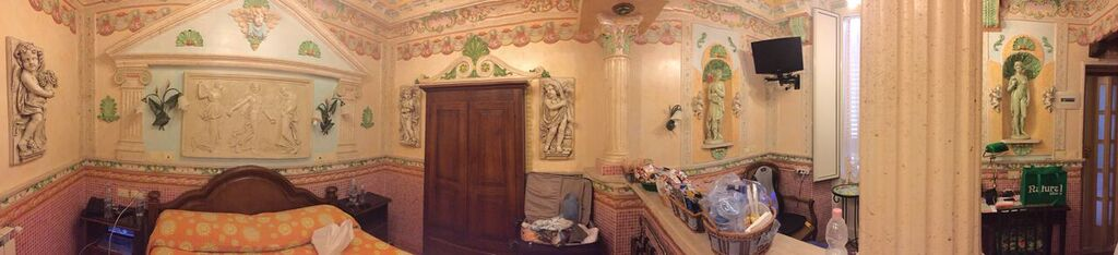 Our room at Hotel Pensione Barrett