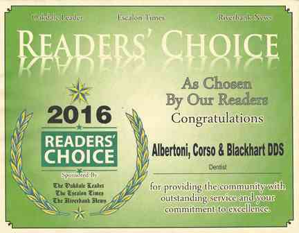 Oakdale Leader Reader's Choice Award 2016.jpg