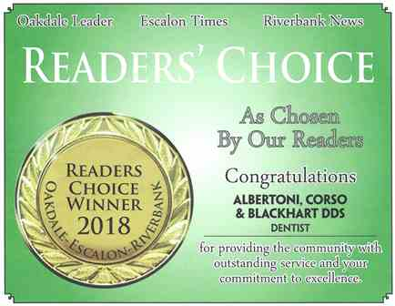 Oakdale Leader Reader's Choice Award 2018.jpg