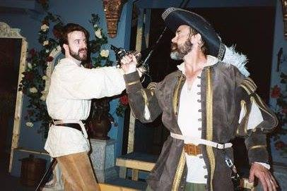 Scott's first show at Ohio Shakes, 2003.