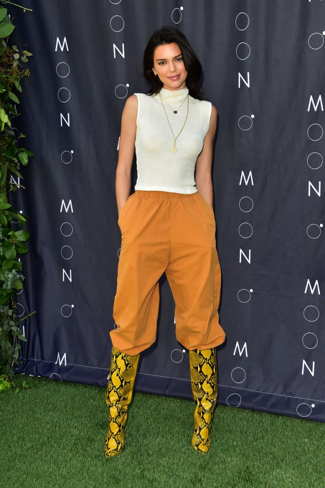 Kendall Jenner, Brian Keith Thompson, Body Electric Tattoo and Piercing