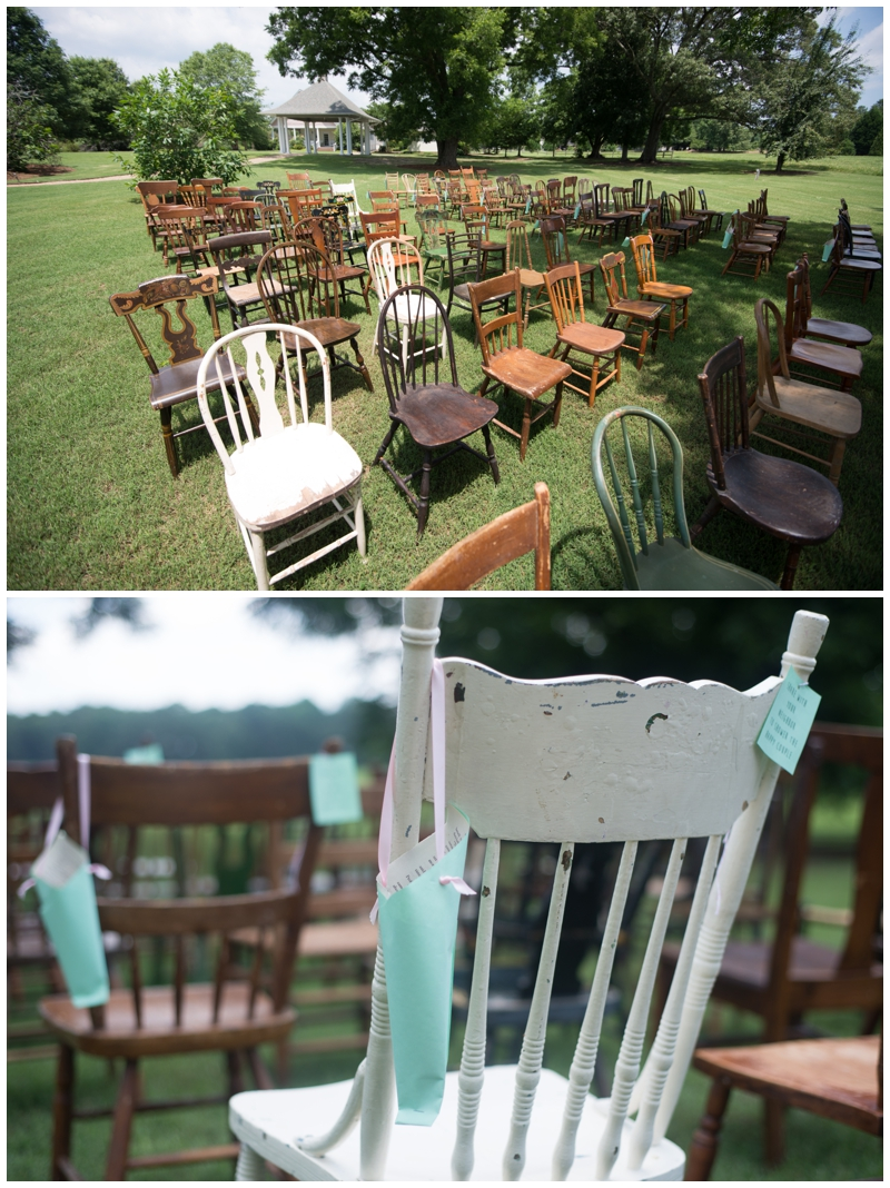 vintage event rental at Lenora's Legacy in Greenville, SC