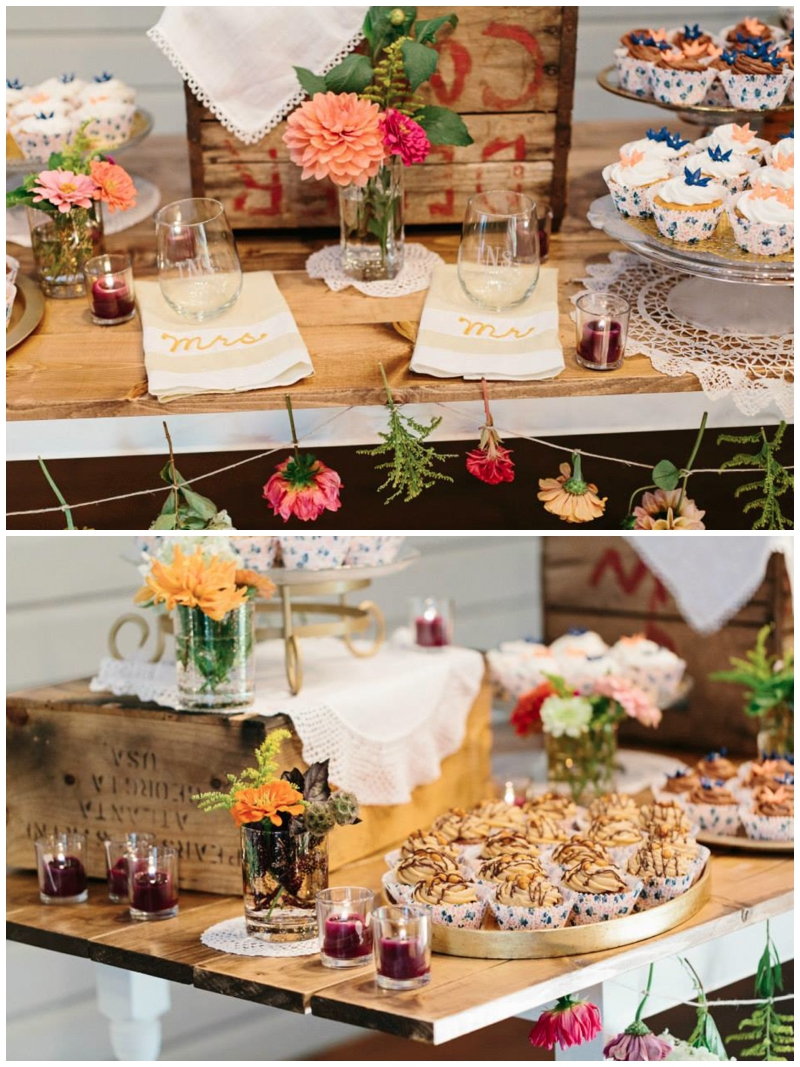Vintage Event Rentals at Lenora's Legacy in Greenville, SC
