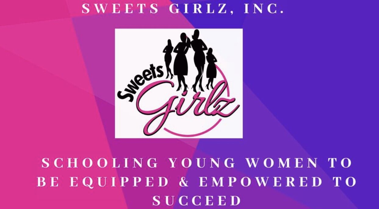 The Sweets Girlz logo and banner.  Photo Courtesy of Sweets Girlz Inc.