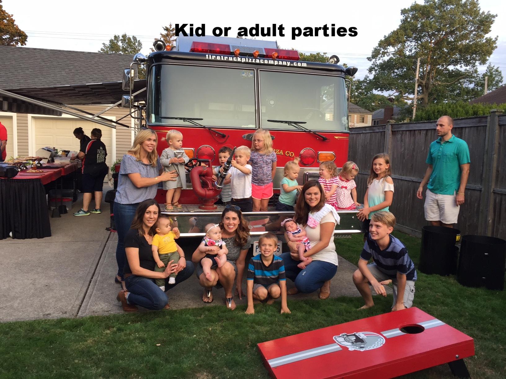 Adult or kid parties