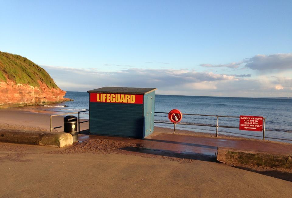 Exmouth Orcombe Lifeguard Hut