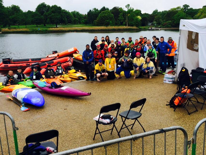 All of the water safety crew at the end of a busy weekend, can you spot our volunteers?