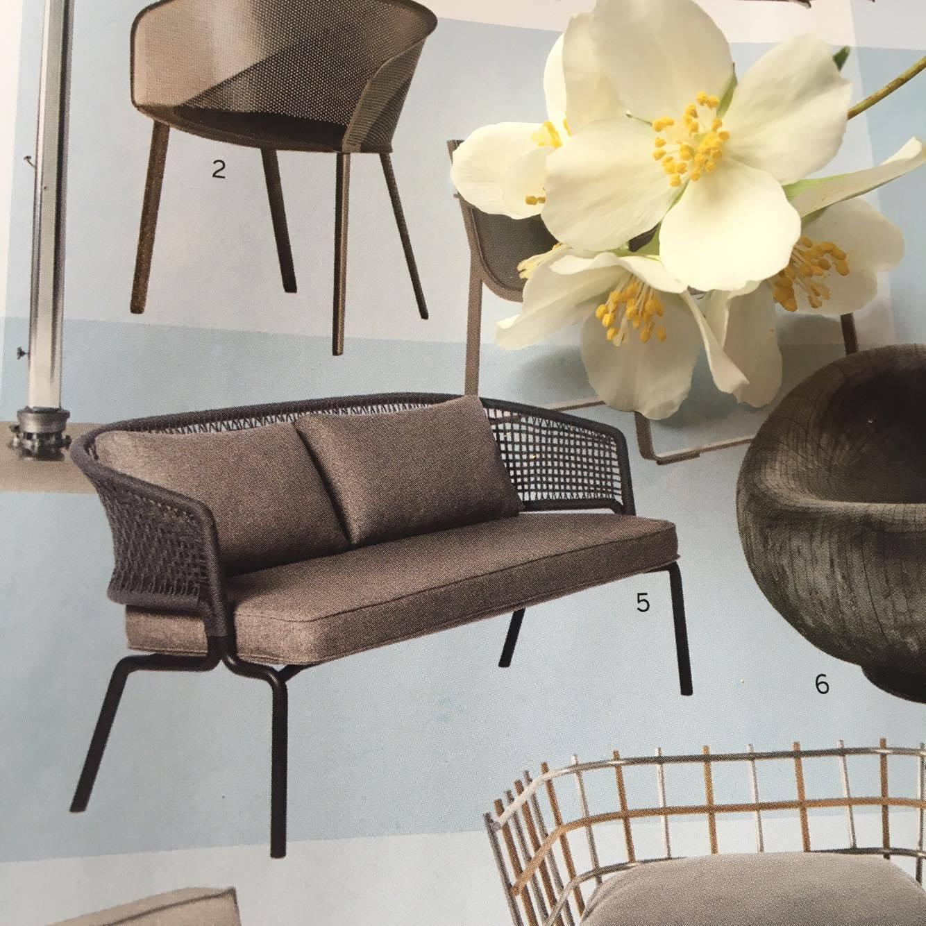Tribù er kendt for sine eksklusive outdoor-møbler, og dette års kollektion er ingen undtagelse. Contour-sofa, designet af Piergiorgio Cazzaniga, fra 38.400 kr. forhandles eksklusivt hos scaledesign.