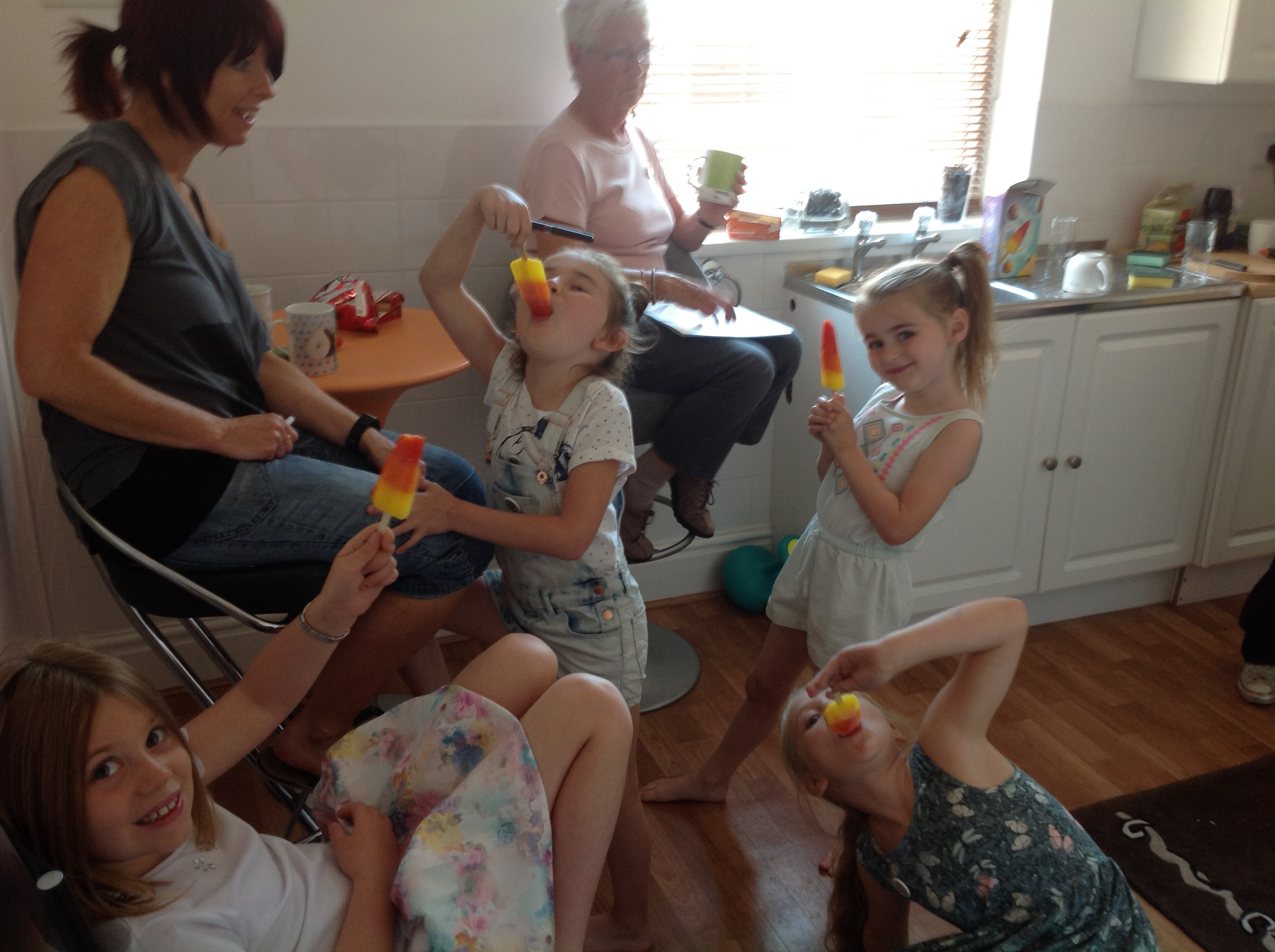 Everyone knows ice lollies help aid Creative Thinking...
