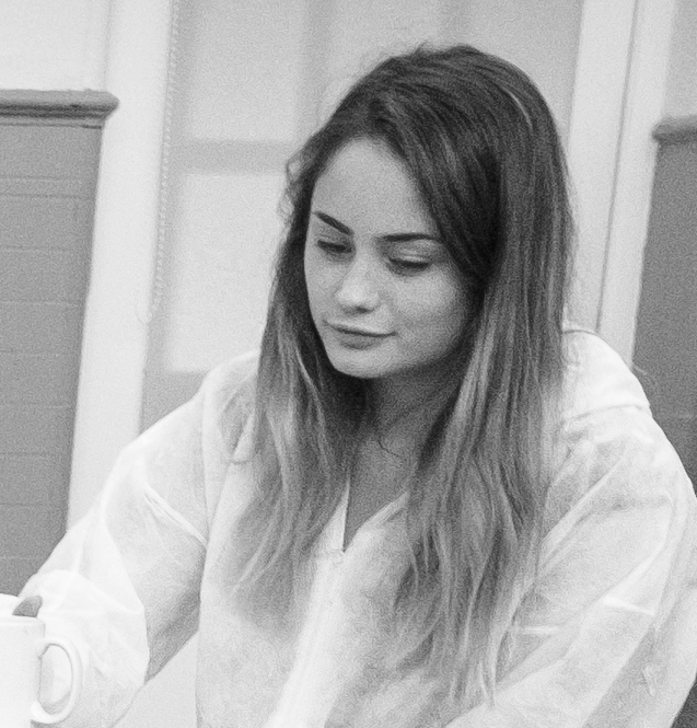 Meg Chadderton   Fine art student Meg has volunteered on many a creative project with us, fine tuning her creative talents and sharing her knowledge in all things artistic with our participants.  She continues to work with us in between her time at university.