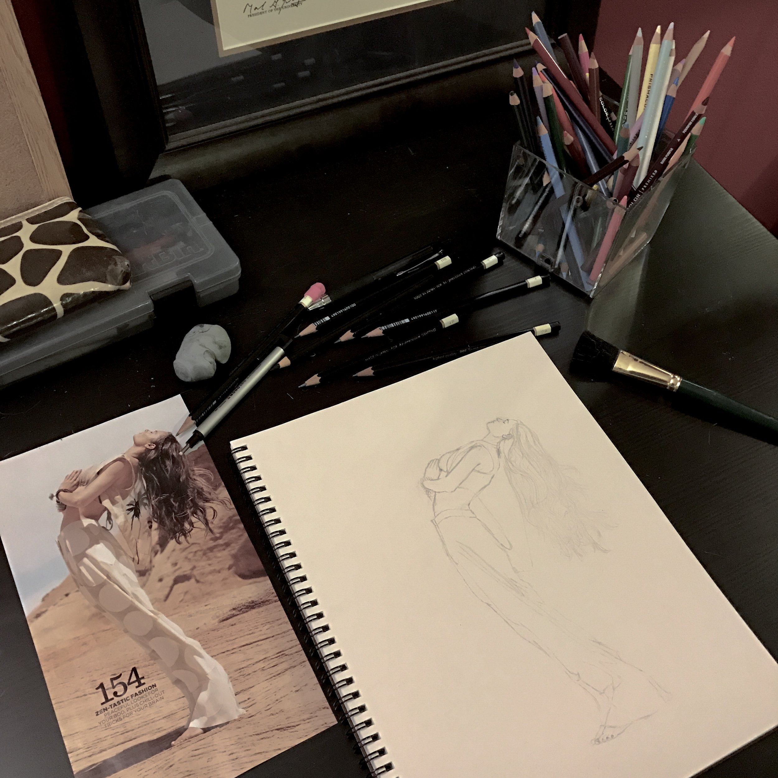 Nikki Dance_backbend sketch