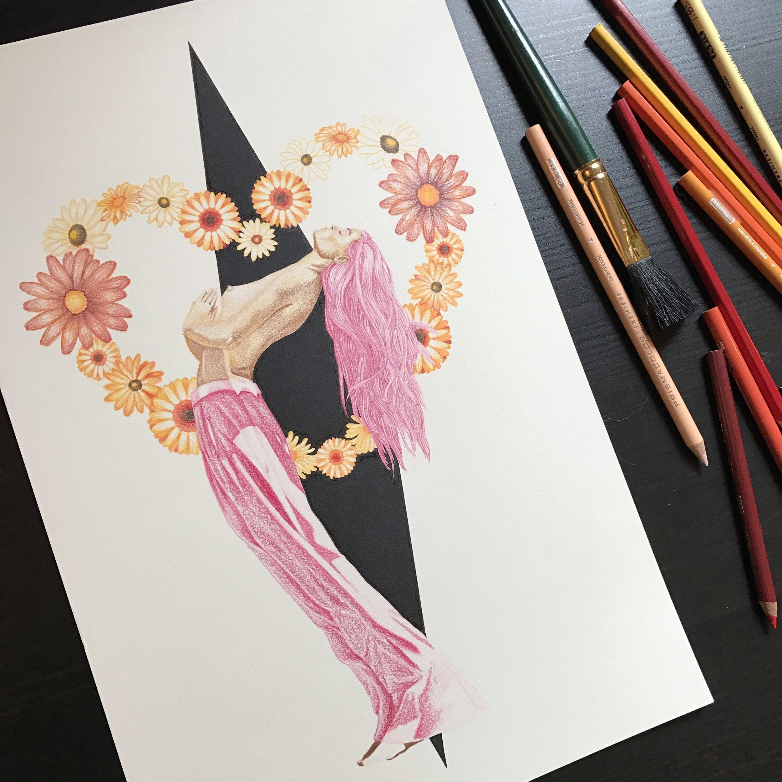 Nikki Dance_Split the Heart_instagram