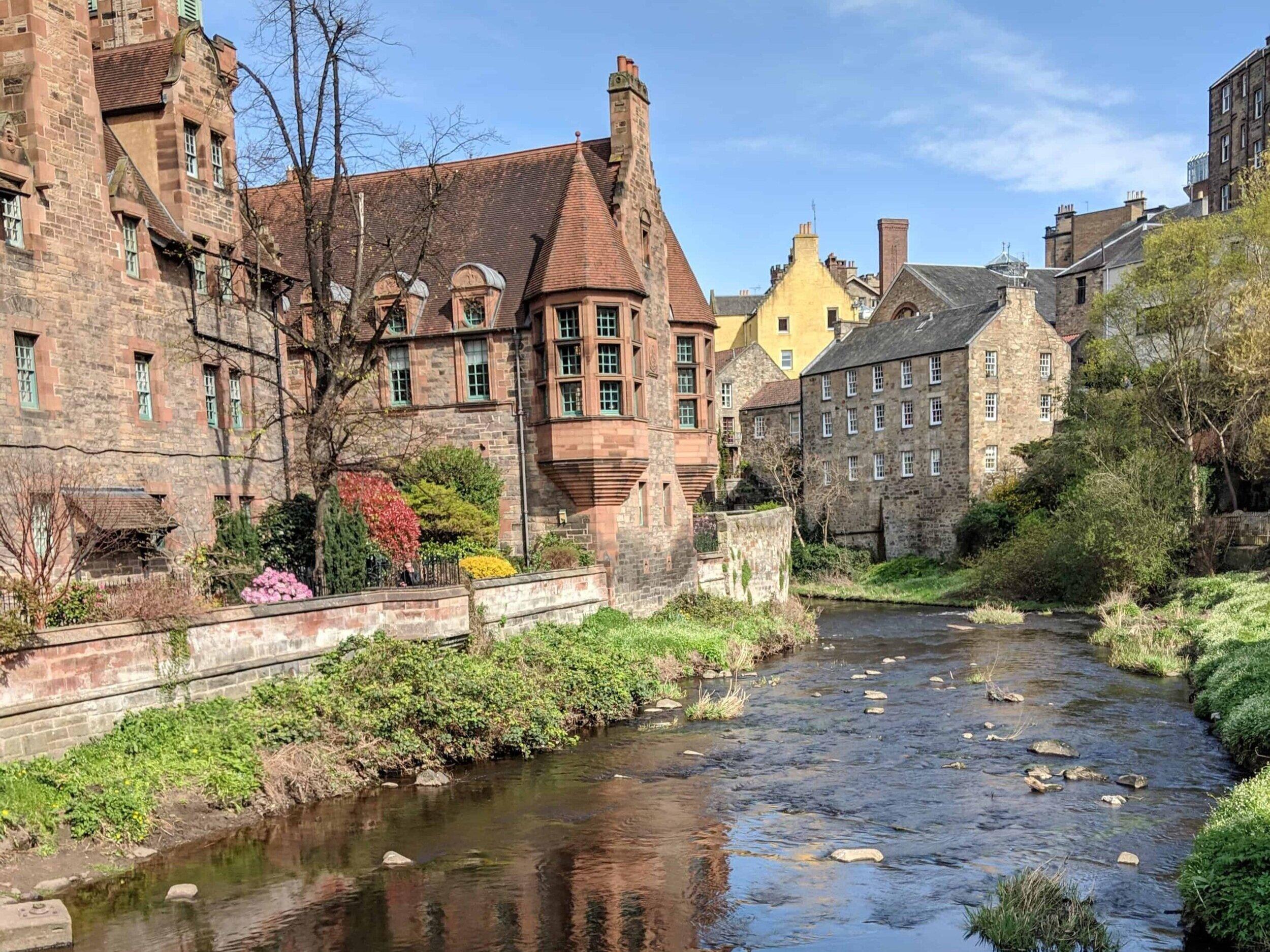 Dean Village, Edinburgh, Scotland