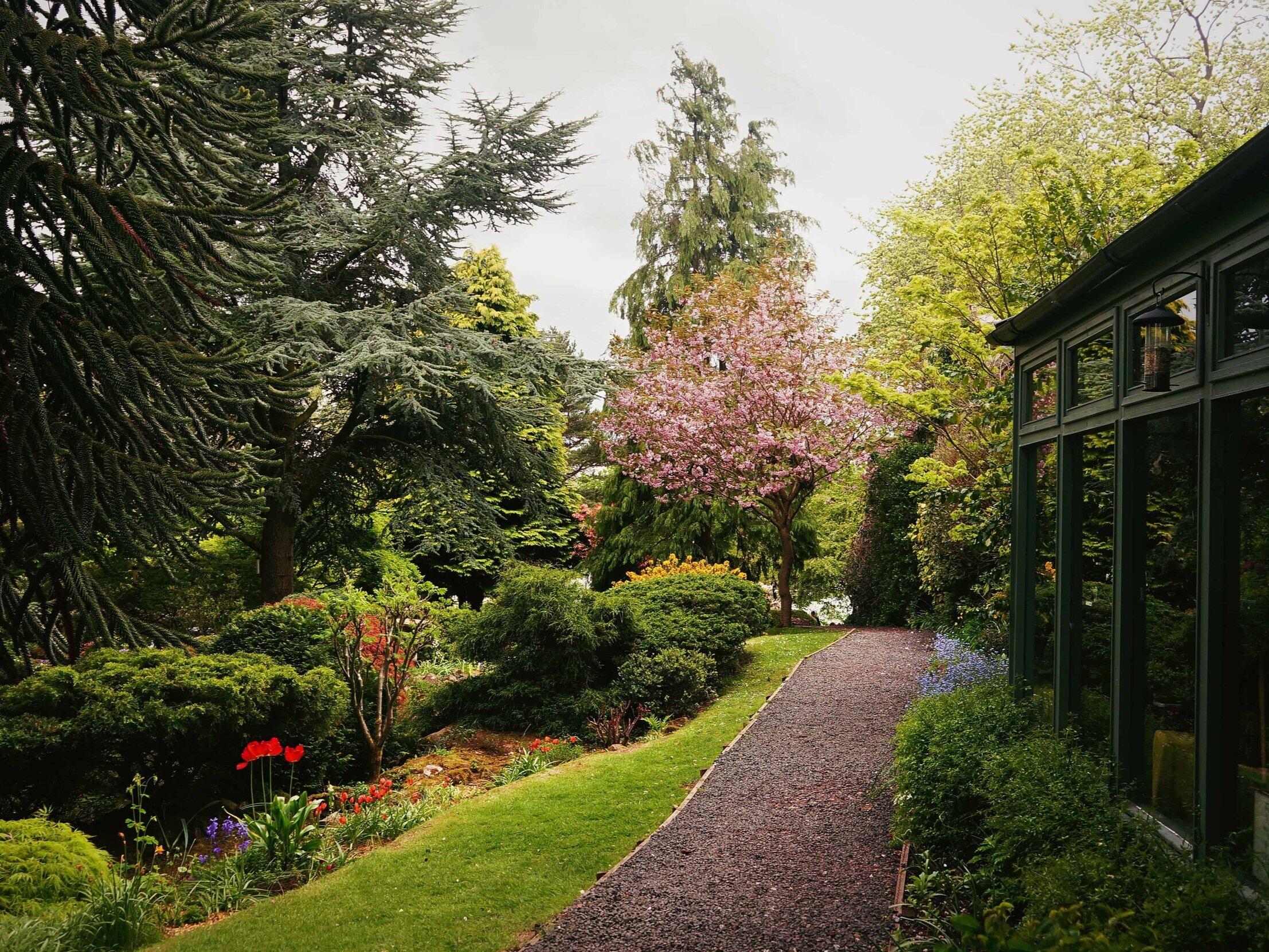 Dr. Neils Garden, Edinburgh, Scotland