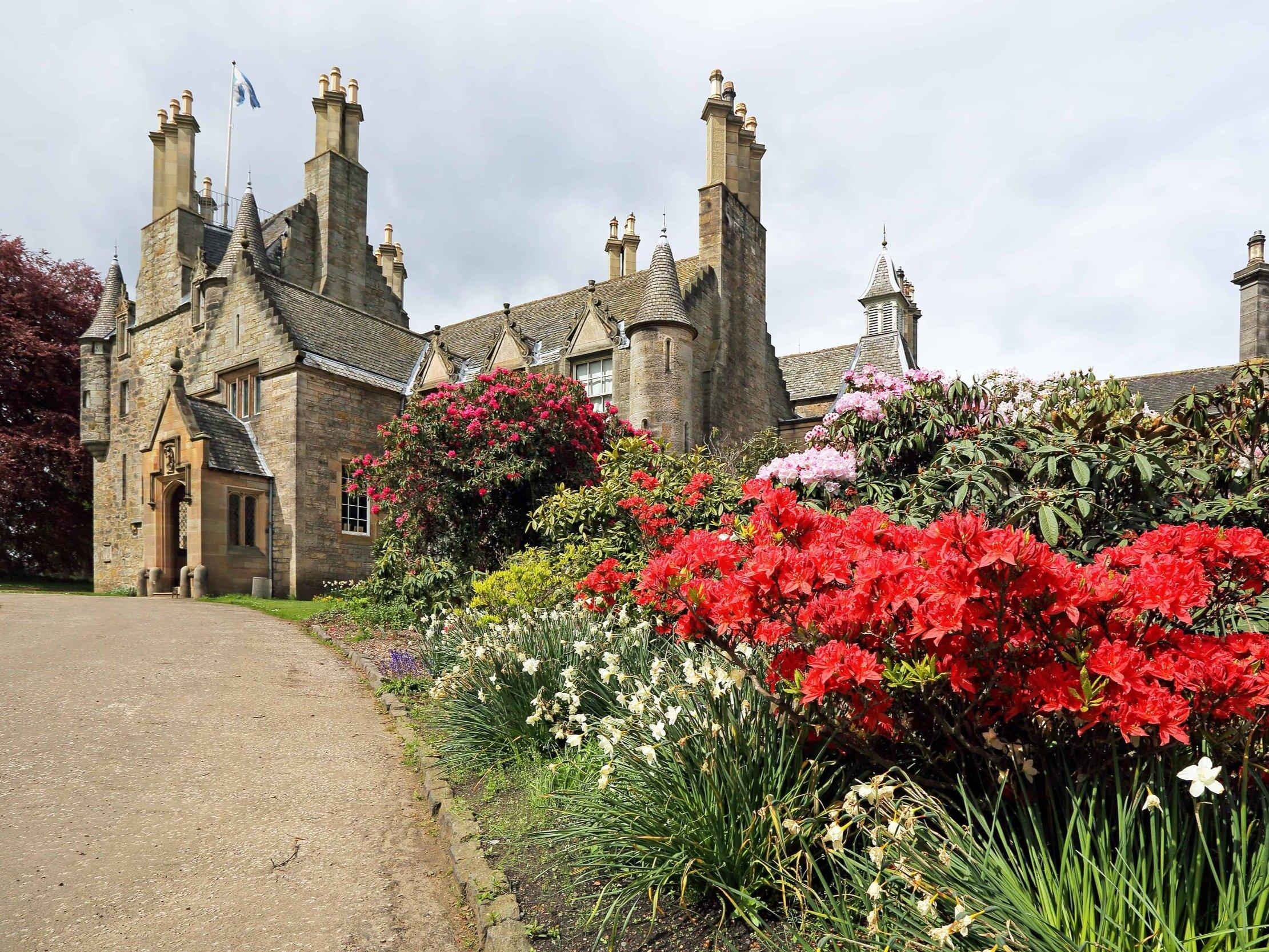 Lauriston Castle, Edinburgh, Scotland