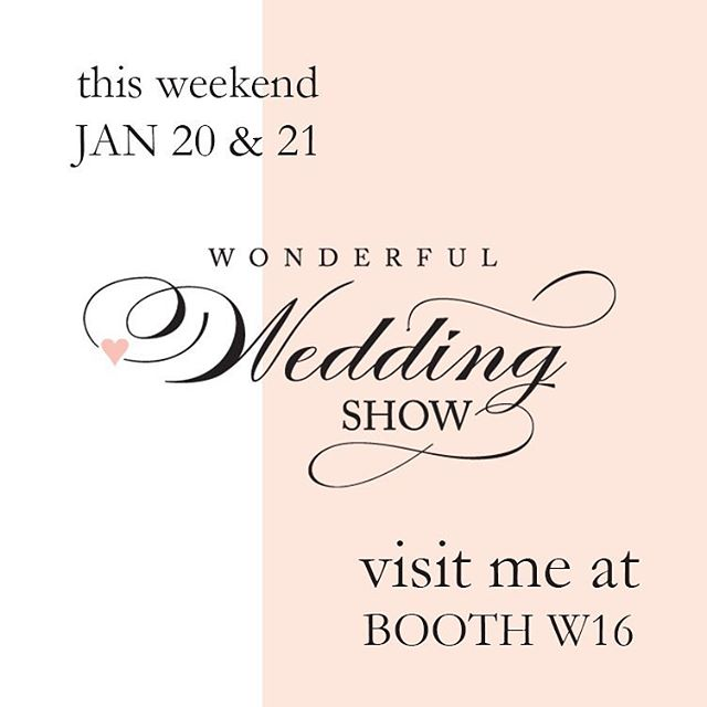 Winnipeg Brides, I can't wait to meet you at the @wonderfulweddingshow this weekend! Stop by Booth W16 to say hi and to get my special wedding show promo! #WWS2018 #winnipegbride #winnipegweddingphotographer #weddingphotography #bridalphotographer #winnipegphotographer #winnipegweddings #wonderfulweddingshow #bacheloretteparty #bacheloretteportraits #elopementphotographer #destinationphotographer
