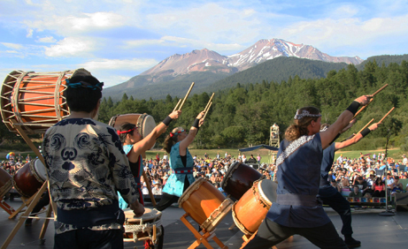 Shasta Taiko at ShastaYama 2009 (photo credit: Gary Ono)