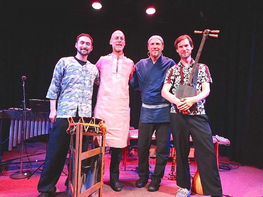 Eien concert with Robbie Belgrade, John Kaizan Neptune, Kyle Abbott