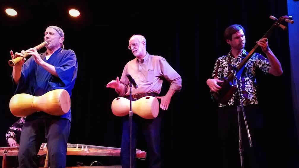 Eien concert with John Kaizan Neptune, Monty Levenson, Kyle Abbott