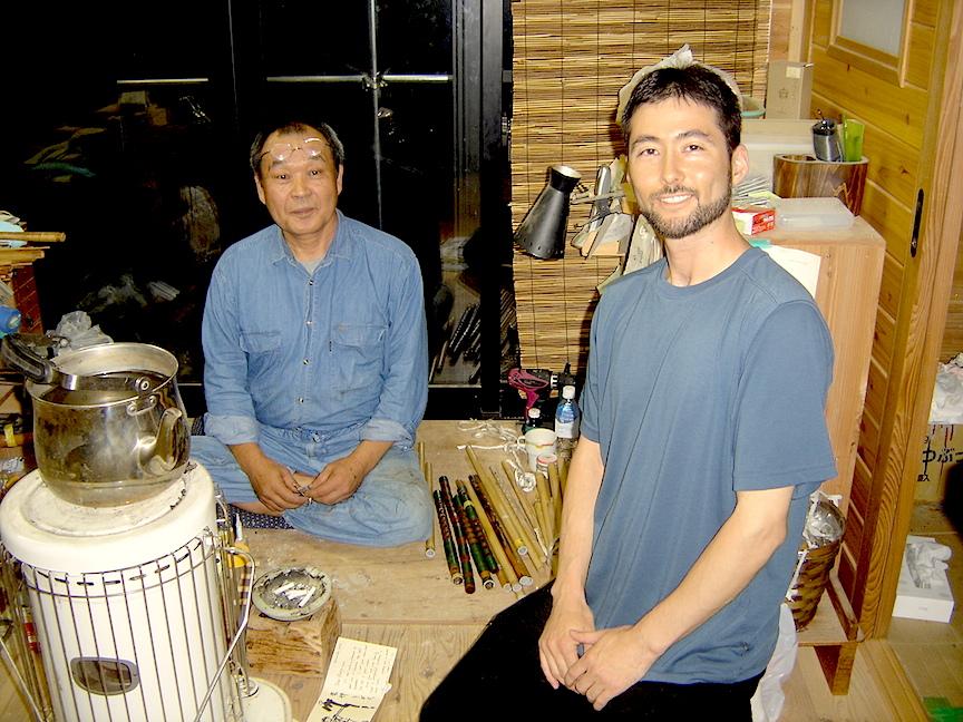 2010 visit to Ranjo workshop