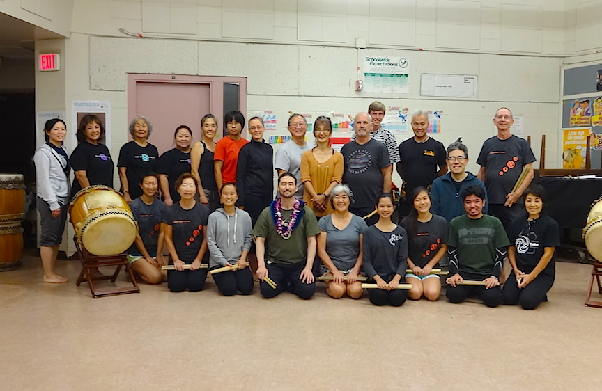 Taiko Center of the Pacific workshop