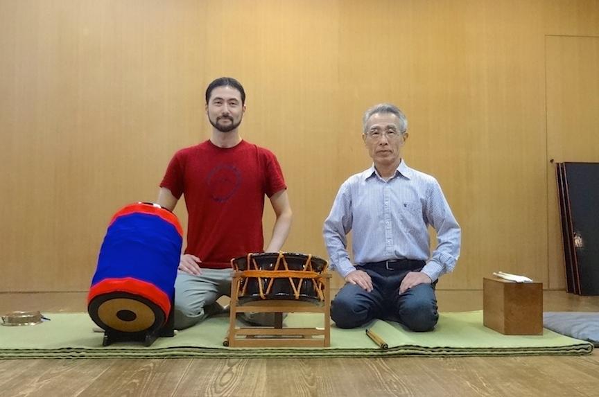 Edo Bayashi lessons with Kyosuke Suzuki sensei in Tokyo