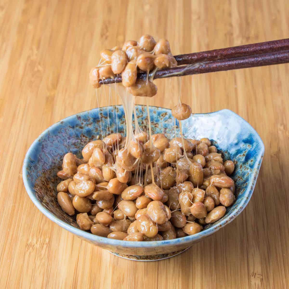 Natto 'nebaneba' stickiness