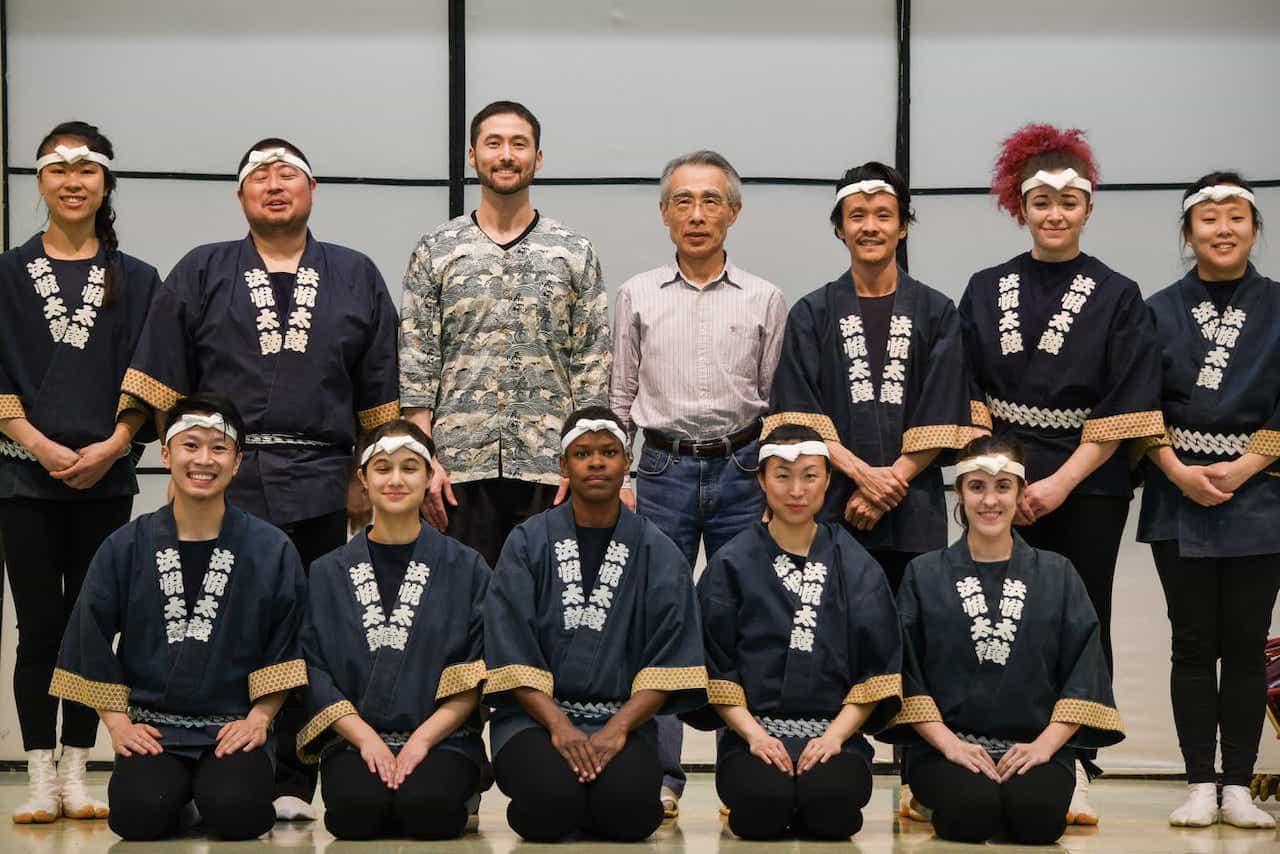 Suzuki sensei with Ho Etsu Taiko
