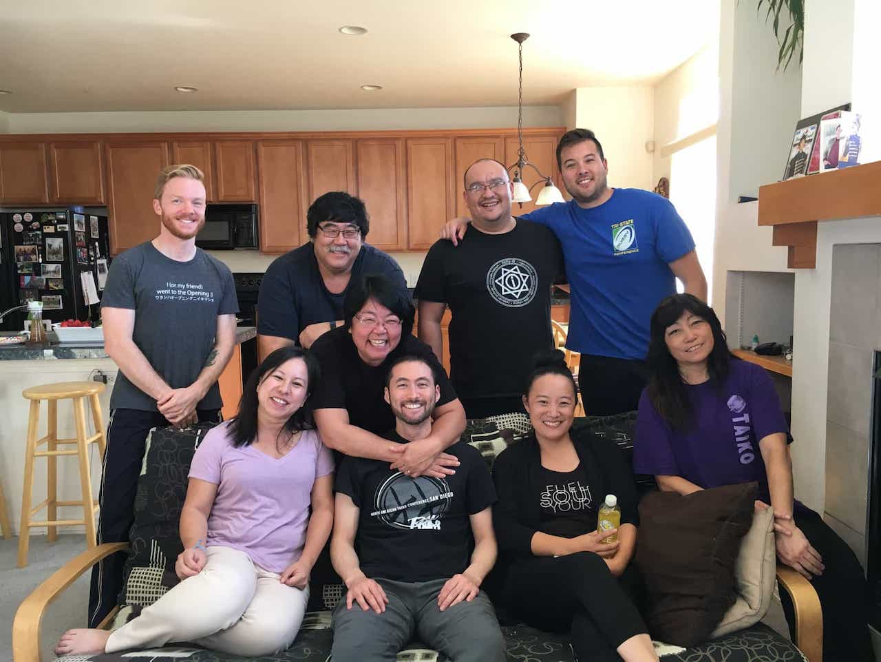 After the Edo Bayashi workshop in Denver