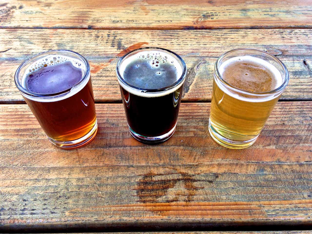 Montavilla Brew Works flight