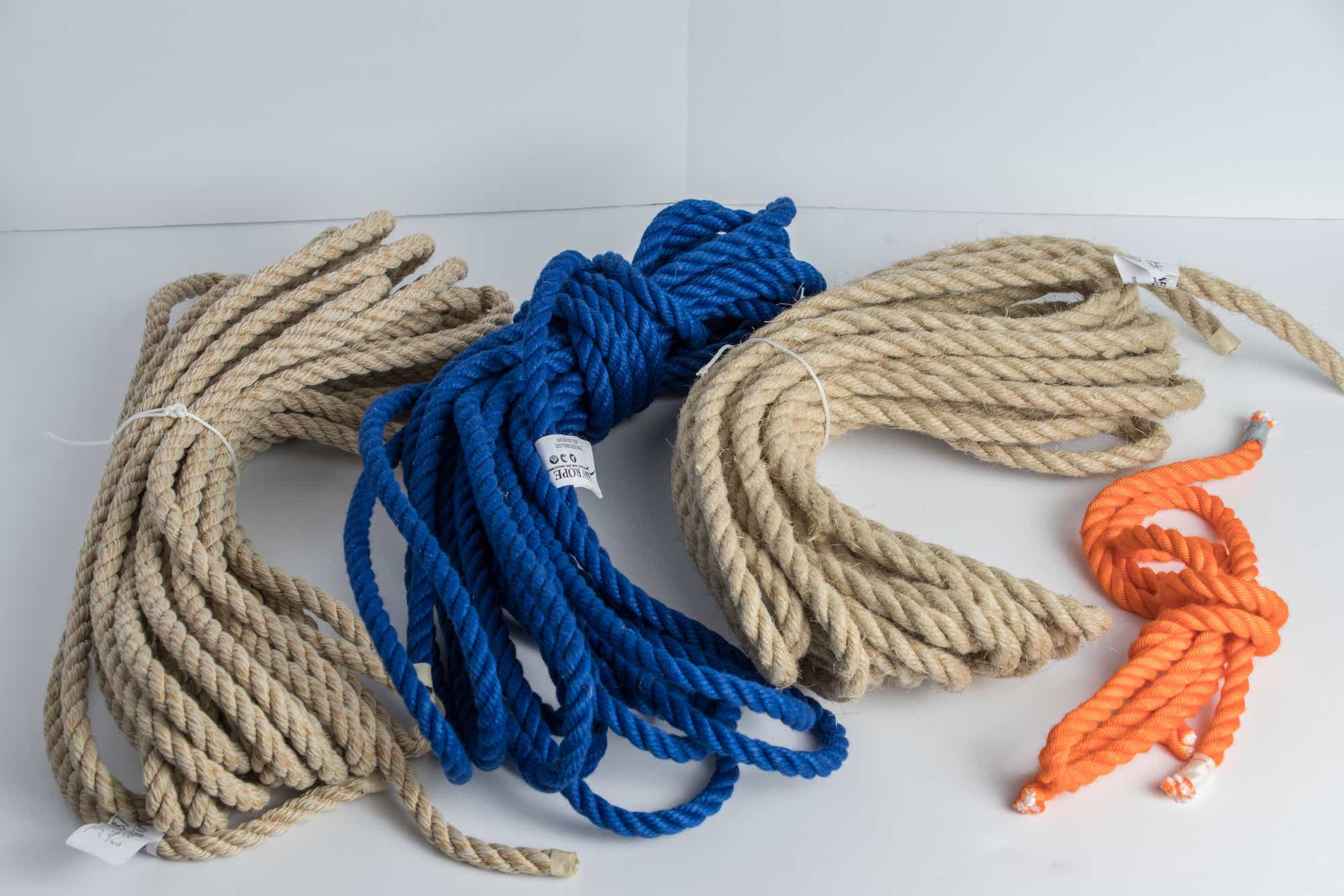 Shimedaiko rope used for testing