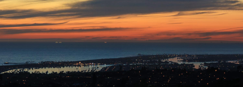 "Newport Beach, California Sunset | Copyright © Bryant Nix prints available: 96"" x 36"", 64"" x 24"", 38"" x 14"", 24"" x 10""  contact  bryantnixphotography@gmail.com"