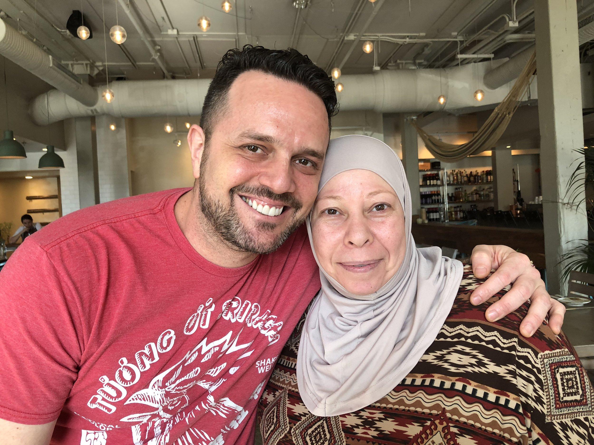 Chef Enrique Limardo (Alma Cocina Latina)& Chef Iman AlShehab (Mera Kitchen Collective)