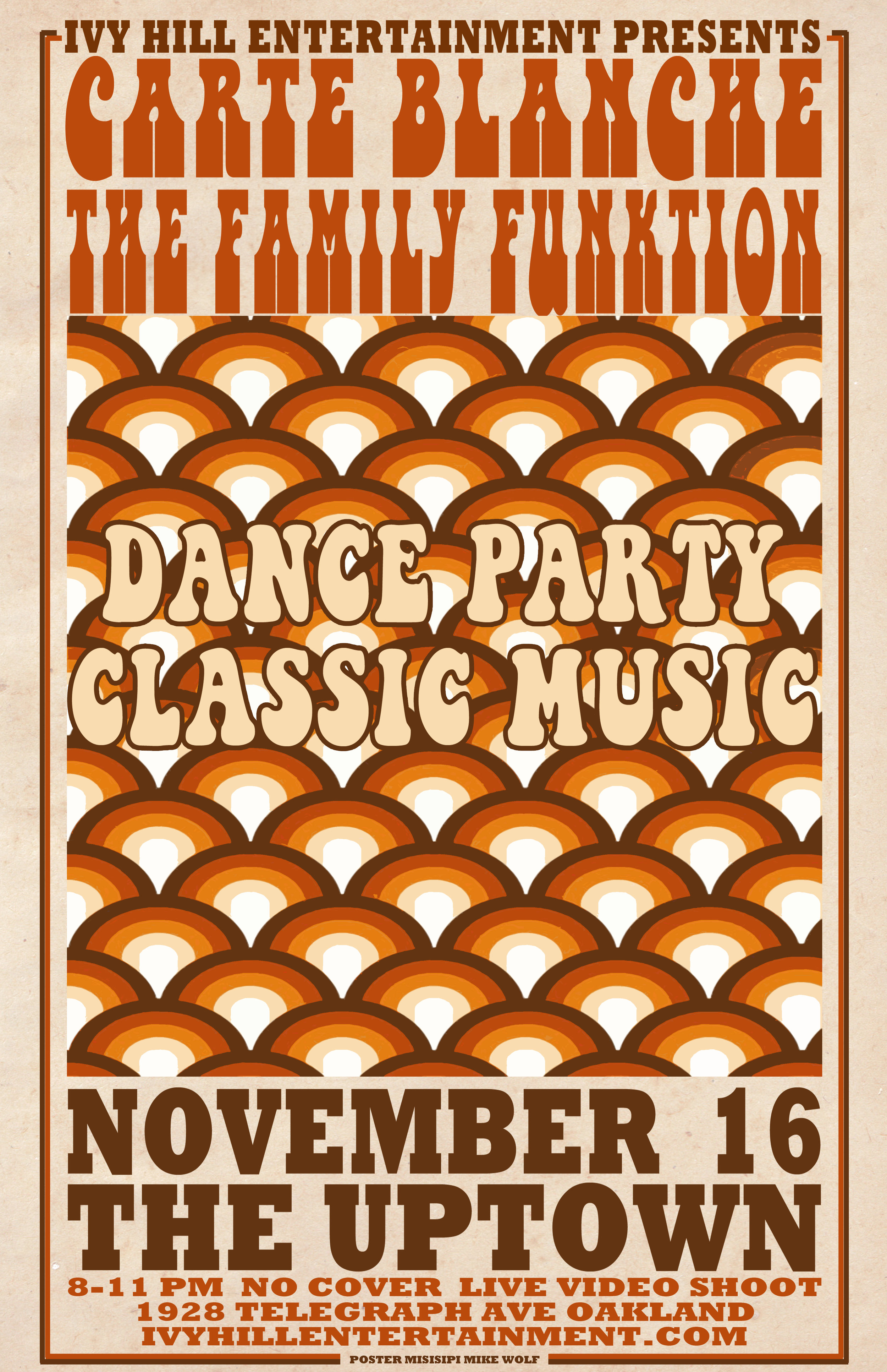 Dance Party Poster, The Uptown
